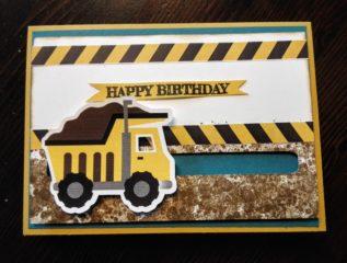 Kullerkarte zum 2. Geburtstag