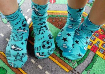 Sockenliebe... Socken wohin das Auge reicht!