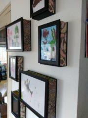 Kleine Künstler und ihre Bildergalerie